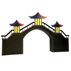 Add drama to your theme with a city arch kit, great for Asian themed Proms.