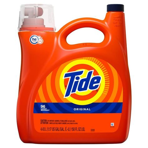 Tide 150 Fl Oz Original He Laundry Detergent 3700023068 In 2020