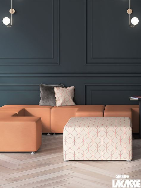 quality products low priced exclusive range Boudoir inspiration - With a few Cube 300 and Pouf Modular ...