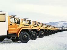 Грузовики «Урал» будут строить газопровод «Сила Сибири» / Только машины