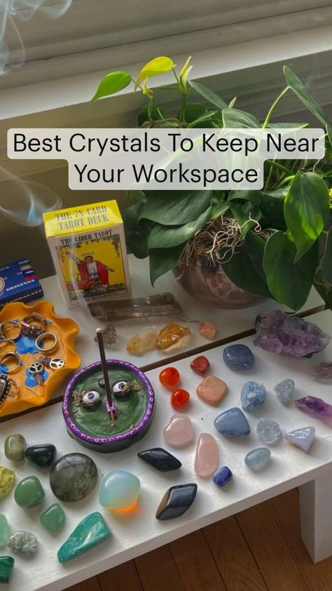 Best Crystals To Keep Near Your Workspace