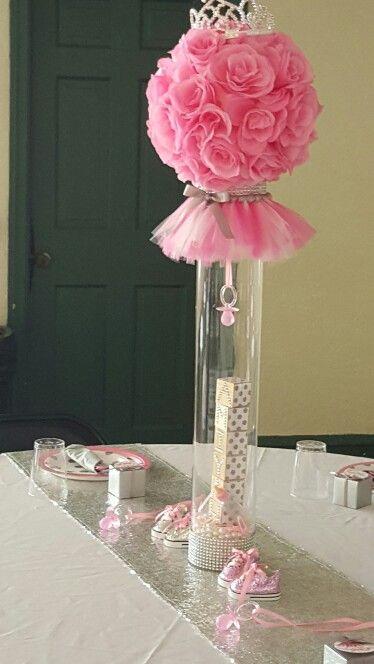 head table centerpiece  balloon  design    head, Baby shower invitation