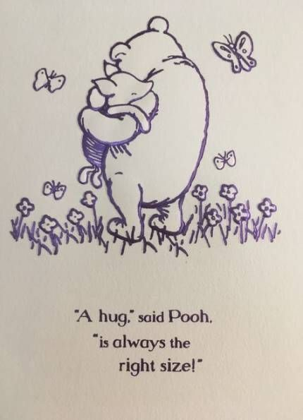Hugs are something that can get you through the rest of the day