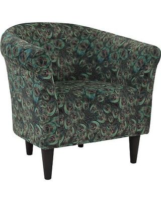 Brilliant Fox Hill Fox Hill Savannah Peacock Print Club Chair Uch Caraccident5 Cool Chair Designs And Ideas Caraccident5Info
