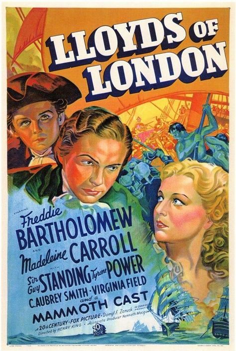 Lloyd´s Of London (1936) - Tyrone Power DVD