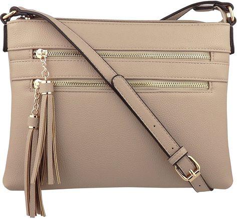 B BRENTANO Vegan Leather Shoulder Tote Bag