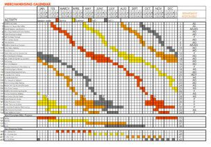 How-To: Market Calendars - Worksheet: Merchandising Calendar