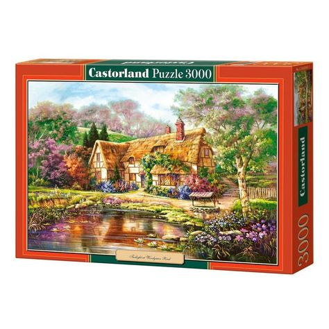3000 Pieces Boxed Jigsaw Puzzle Collection - Model E
