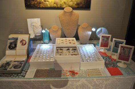 Michele's AMAZING setup - she is in my upline!!! Join my team....it is rockin! Designer #10657