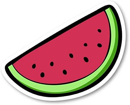 Amazon Com Watermelon Sticker Funny Stickers 2 Pack Laptop Stickers 2 5 Vinyl Decal Laptop Phone Tablet V Free Clip Art Clip Art Watermelon Clipart