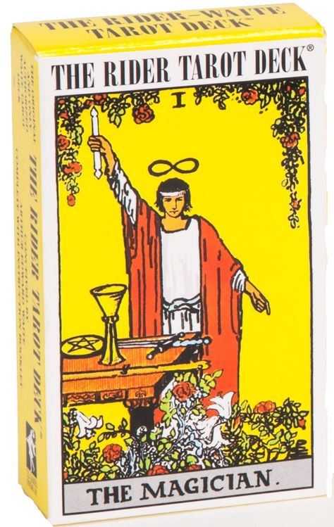 The Rider-Waite Tarot Card Deck. The most popular deck in the world. Illustrated by Pamela Smith under the guidance of Arthur Edward Waite. See more info and purchase @ The Eternal Circle Shop