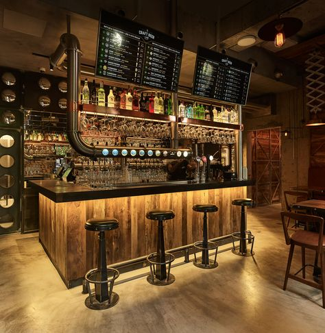 Naif Design Craft Beer 01 Jpg Design De Interiores De Bar Projeto Pub Prateleiras De Bar