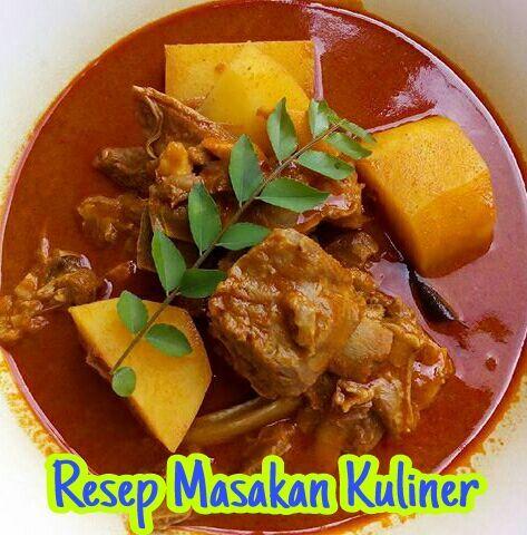 Kari Kambing India Resep Kari Daging Kambing India Resep Masakan Resep Makanan India Masakan