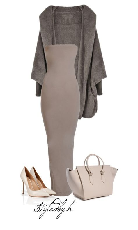 """untitled#159"" by hebashk ❤ liked on Polyvore featuring Wolford and Sergio Rossi"