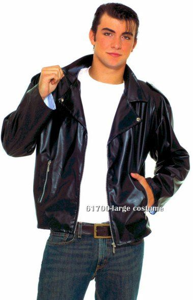 Greaser Jacket Costume Product Description Adult Halloween