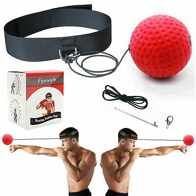 Boxing Training Fight Ball Reflex Speed Reaction Punch Combat Muscle ExerciseHOT