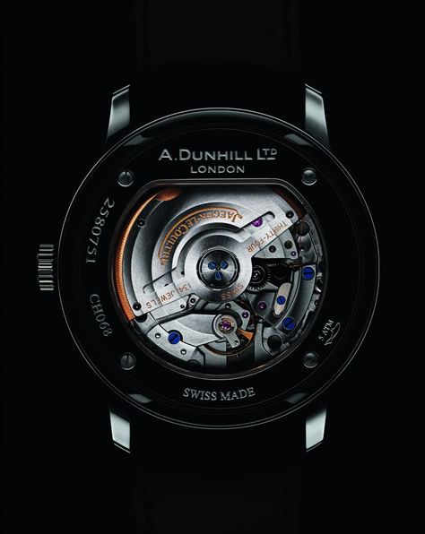 The dunhill Classic Watch with Jaeger-LeCoultre Calibre 896 Movement