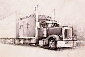 Kenworth By Hipiz On Deviantart 800x534 Kenworth Trucks Truck Art Kenworth
