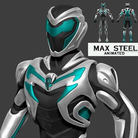 max steel 3d