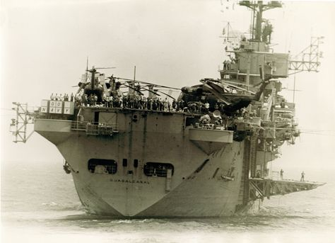 Iwo Jima class USS Guadalcanal (LPH-7)