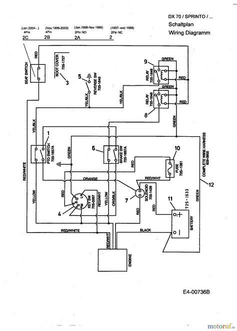 Basic Lawn Mower Wiring Diagram
