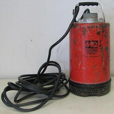 Mq Multiquip 2 Sump Submersible Water Pump St 2037 115v In 2020 Electric Water Pump Water Pumps Submersible