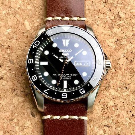 Ceramic Insert - Urchin Dual Time Black – dlwwatches