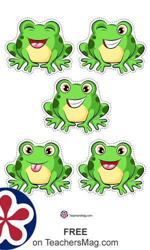 Free Five Little Speckled Frogs Printable Frogs Preschool Frog Theme Preschool Frog Theme Classroom