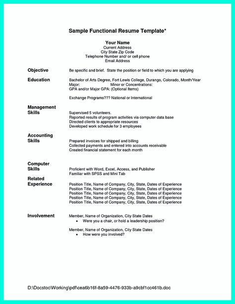 chronological resumes - Google Search Resumes Atlas Pinterest - resume for respiratory therapist