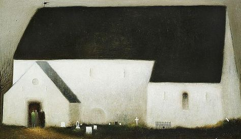Albert Bertelsen Architecture Art Albert Oil On Canvas
