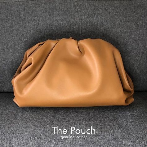 The Cloud Pouch - Leather bag