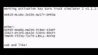 euro truck online activation key