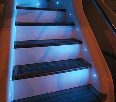 Led Stair Lighting Kit Round