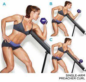 Hit On 21s Intense Arm Workout Workout Routine Arm Workout