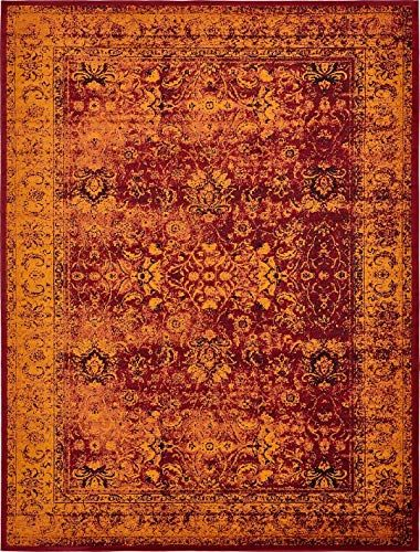 New Luxury Modern Vintage Inspired Overdyed Area Rugs Red 10 X 13 Ft Artis Designer Rug Colorful Craft Rugs Carpet Online Shopping Colorful Rugs Rug Design Rugs On Carpet