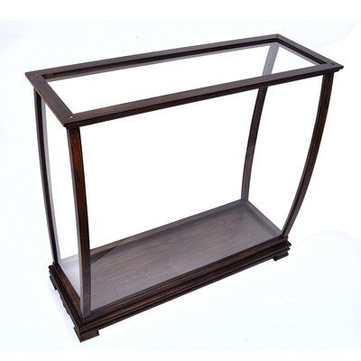 Old Modern Handicrafts Table Top Tower Display Case Size 31 5 H X 34 W X 13 D Display Case Table Modern