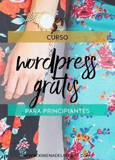 Curso de WordPress en español para principiantes – ¡GRATIS! #NegociosOnline