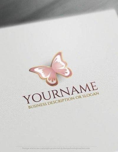 3d Schmetterlings Logo Vorlagen Erstellen Sie Ein Logo Kostenlose Schmetterlings Logo Ideen Logo Ideen Vorlagen Einfache Logos