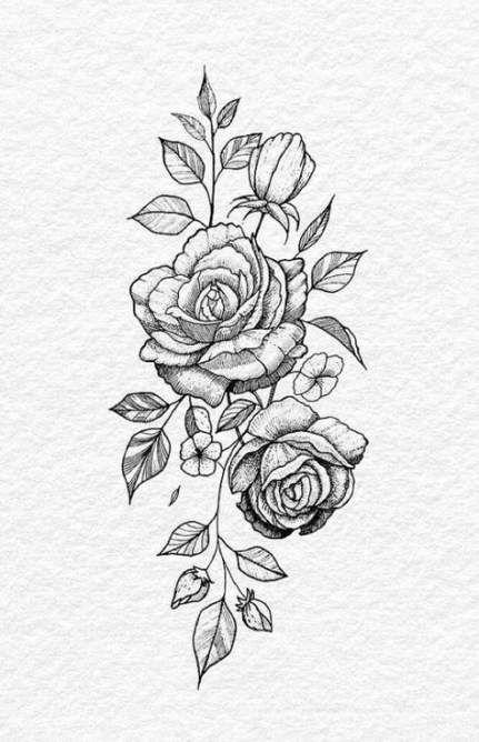 Tattoo Rose Design Draw Thighs 33 Ideas Hip Tattoo Tattoos Trendy Tattoos