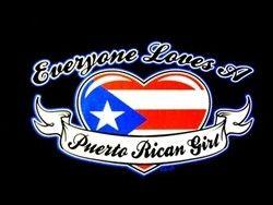 Everyone Loves A Puerto Rican Girl T-Shirt 186  @Jazmin Hooijer Ortiz