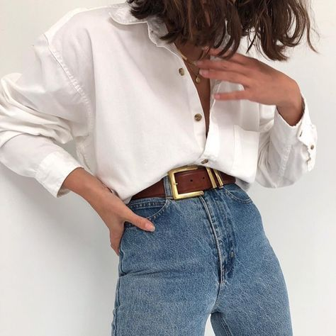 La chemise blanche en popeline de coton trending women s thigh high boots outfit ideas for fall or winter 2018