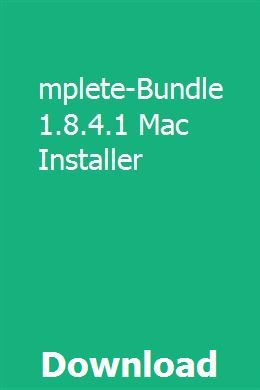 Vmr-Vms-Complete-Bundle 1 8 4 1 Mac Installer download full