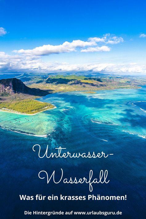 Der Unterwasser-Wasserfall von Mauritius ist ein Naturphänomen, das es so sonst nirgendwo gibt. Was es damit wirklich auf sich hat, lest ihr hier.