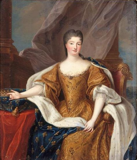 Portrait Marie Anne de Bourbon as Princess of Condé, known as the Duchess of Bourbon  Date1713