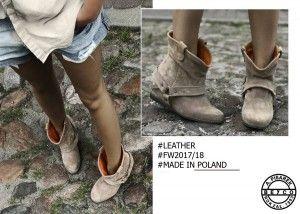 Botki Jesien 2017 Bez 36 40 Leather Shoes 18th