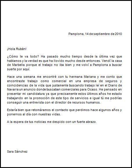 Ejemplo De Una Carta Formal Este Sería Un Ejemplo De Carta Informal Ejemplo De Carta Formal Carta Formal Carta De Opinion
