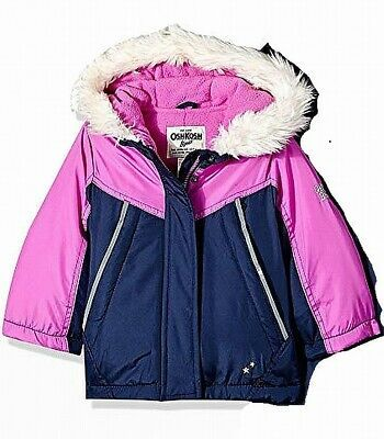 3T, NEW Gymboree Girls Puffer Jacket Coat Pink  Sizes 12-18 mths