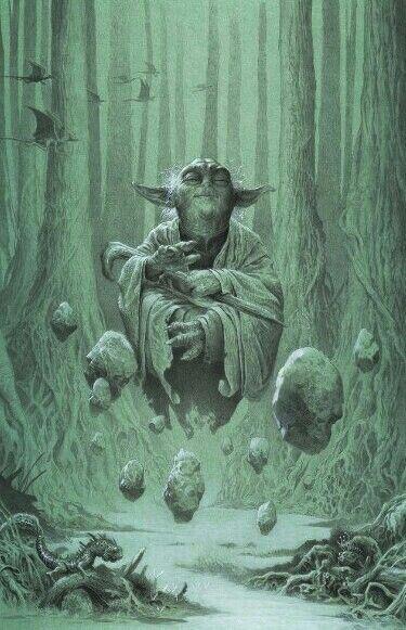 Star Wars Yoda Star Wars Art Star Wars Artwork Star Wars Background