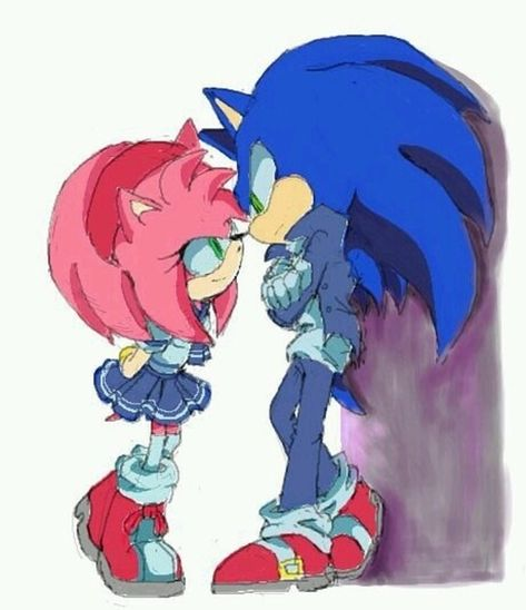 I Fond This Adorable Image Even Though I M Not A Sonamy Fan