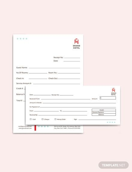Grand Hotel Receipt Template Free Pdf Google Docs Google Sheets Excel Word Template Net Receipt Template Templates Microsoft Publisher